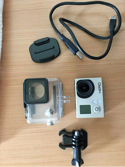 Câmera Gopro Hero 3 White Novíssima Edition Full Hd Wi-fi