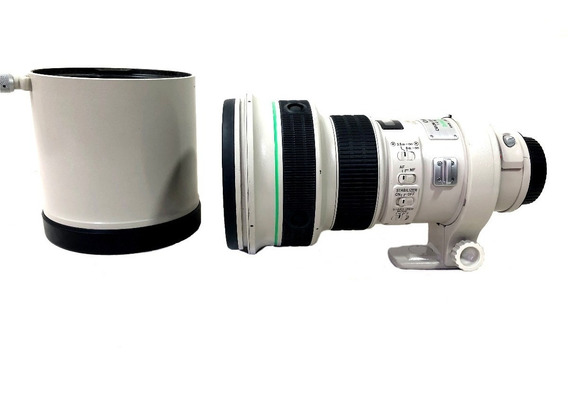 Lente Canon 400mm F/4 Do Is Usm Seminova C/ Pouco Uso