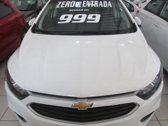 Chevrolet Onix Lt Mod.novo Zero De Entrada+60 X 999,00 Fixas