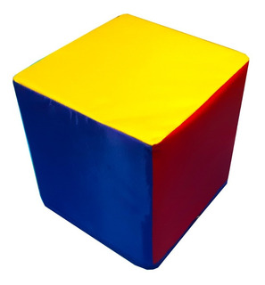 Cubo Didáctico Estimulacion Temprana 30cm Espuma Para Niños