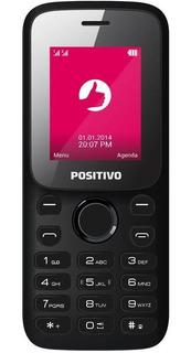 Celular Positivo P25 Câmera Vga E 2 Chips - Preto