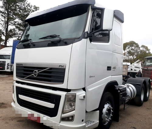Volvo Fh 460 2012 6x2 Ishift Teto Baixo Com Km De 830.000
