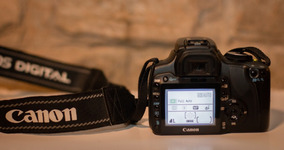 Câmera Fotográfica Cannon Rebel Xti