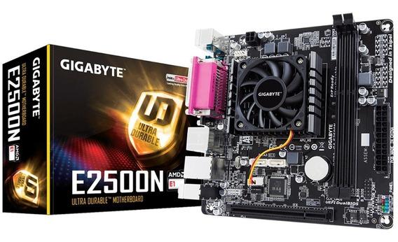 Placa Mãe Dual Core E2500n Gigabyte Com Proces 8240 Graphics