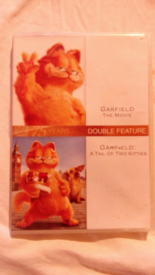 Dvd Doble Garfield - Importado