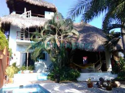 Casa En Venta Brisas De Zicatela Puerto Escondido