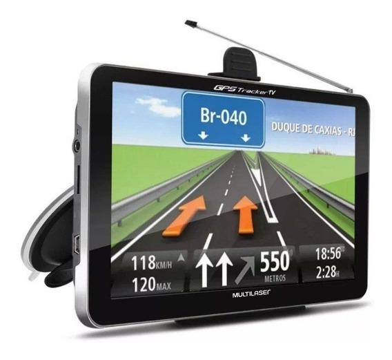 Navegador Gps Automotivo 7 Tv Digital Tracker Multilaser Lcd