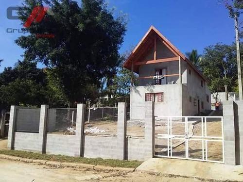 Chácara Com 4 Dormitórios À Venda, 825 M² Por R$ 320.000,00 - Loteamento Chácaras Ingrid - Taubaté/sp - Ch0006