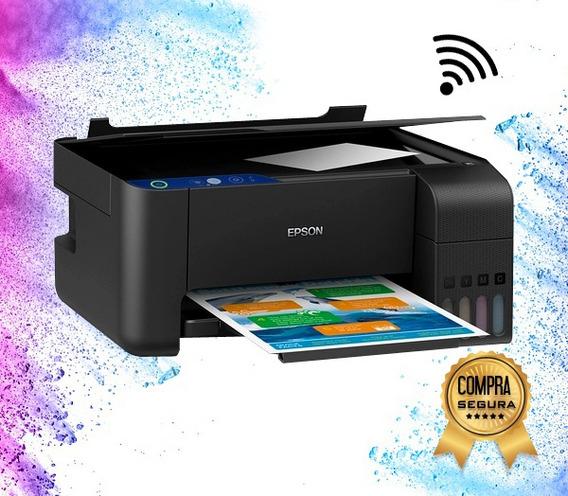 Impresora L3150 Epson +sistema Original+ Wifi Multifun