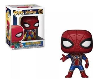 Iron Spider Funko Pop Spider-man Infinity War #287