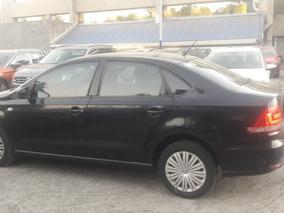 Volkswagen Vento 1.6 Starline Automatico 2017 Negro