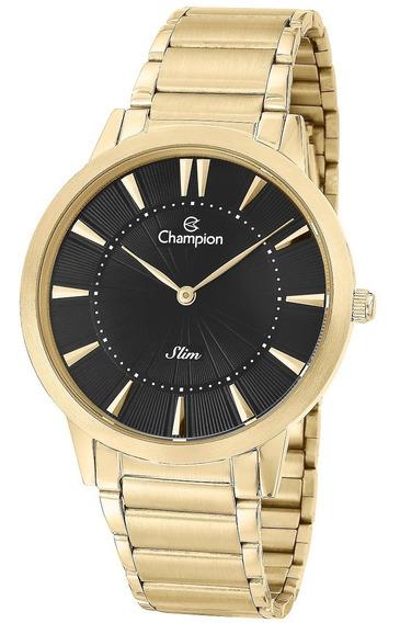 Relógio Unissex Champion Dourado Ca21740u