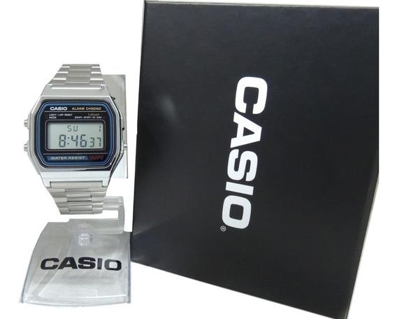 Relógio Casio Vintage A158wa-1df - Nota Fiscal E Garantia Oficial Casio