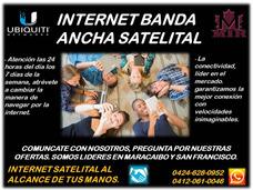Servicio Te Internet Satelital Maracaibo Y San Francisco