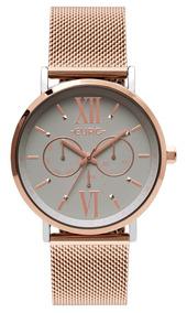 Relógio Euro Feminino Eu6p29aha/5k Original Nf-e Garantia