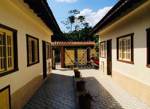 Casa Com 2 Dormitórios À Venda, 271 M² Por R$ 1.500.000,00 - Serra Grande - Niterói/rj - Ca1103
