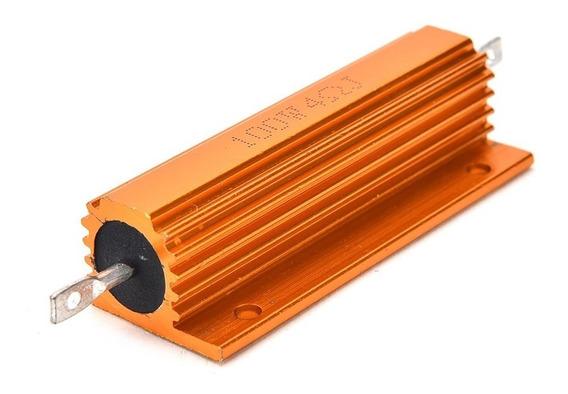 Resistor De Fio Encapsulado Em Aluminio 100w - 4 Ohms 4r
