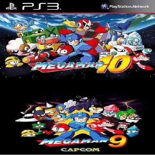 Jogo De Ps3 Mega Man 9 E 10 Em Mídia Digital