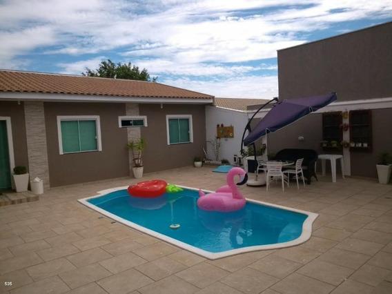 Casa Para Venda Em Ponta Grossa, Uvaranas, 4 Dormitórios, 1 Suíte, 4 Banheiros, 2 Vagas - 133_2-845823