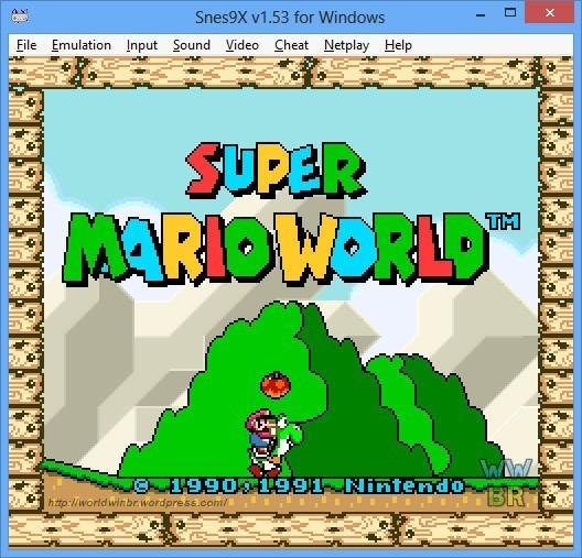 Emulador Super Nintendo Para Pc - Todos Os Jogos