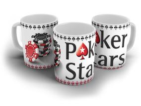 Caneca Personalizada Poker Star- Cerâmica