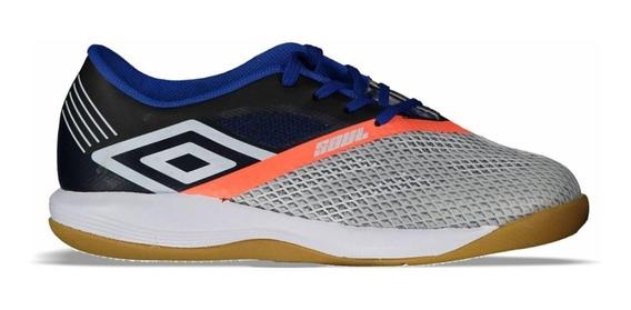 Tenis Umbro Soul Pro Indoor Chuteira Futsal Original Prata