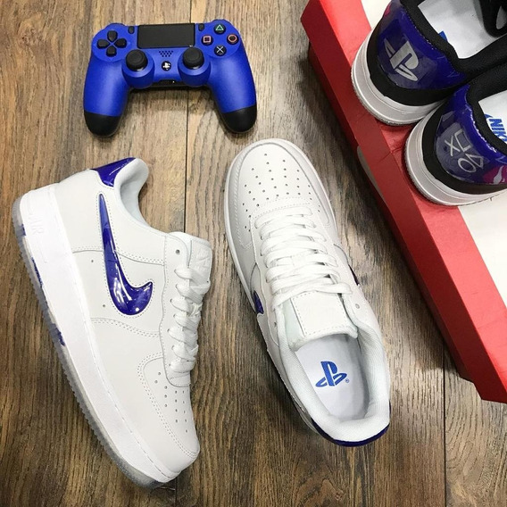 Zapatos Importados /nike Air Force One Playstation