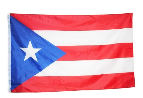 Bandera Puerto Rico 150por90cm Seleccion Coleccion E-869