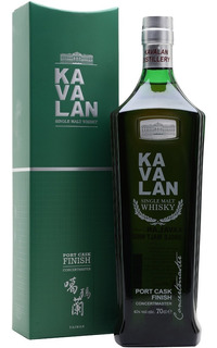 Whisky Kavalan Port Cask Single Malt De Taiwan Con Estuche