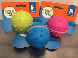 Juguete Pelota Erizo Para Perro Animal Pet 6,5 Cm