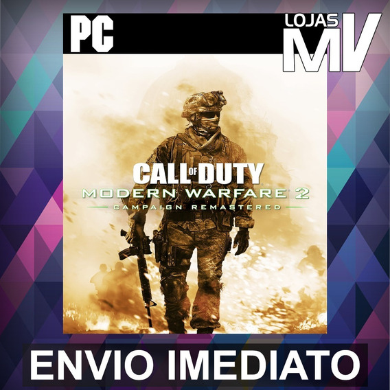 Call Of Duty Modern Warfare 2 Remastered Pc Blizzard Codigo