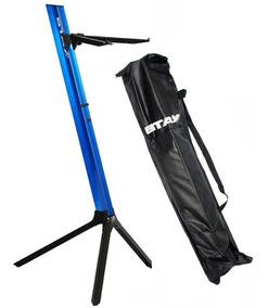 Estante Suporte Para 1 Teclado Stay Slim 1100/01 Azul