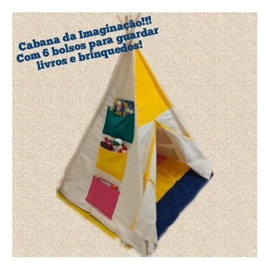 Cabana Barraca Imaginação Infantil 120x160 Ciabrink P5500