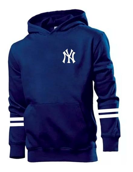Moletom New York Yankees Baseball Blusa De Frio