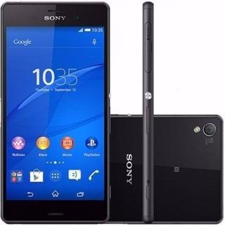 Smartphone Sony Xperia Z3 Tv D6643 Preto 16gb Vitrine