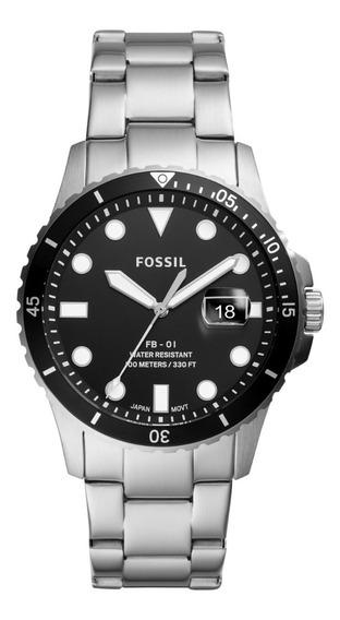Reloj De Caballero Fb - 01 Fossil Fs5652 Color Plateado