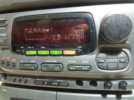 Micro System Aiwa Nsx520 Para Reparo