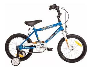Bicicleta Halley Rodado 16 Cross Varon 19050