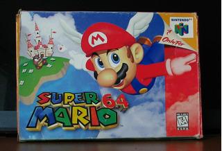 Super Mario 64 Con Caja Manual E Insertos Todo Original