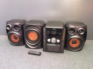 Equipo De Música Panasonic Sa-ak640 Excelente Estado