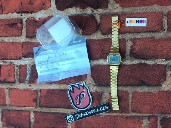 Relógio Skmei Dourado Original