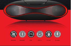Caixa De Som Mini Speaker Bluetooth Super Bass Recarregável