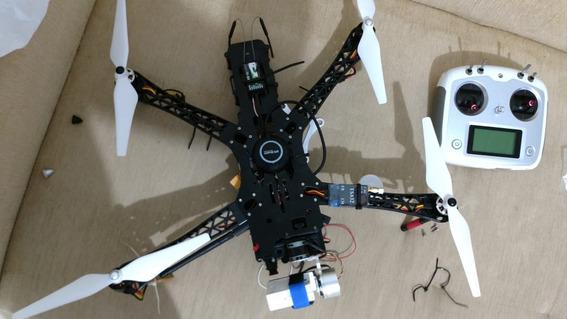 Drone Tbs Com Apm - Gps, Fpv, Gimbal, Radio