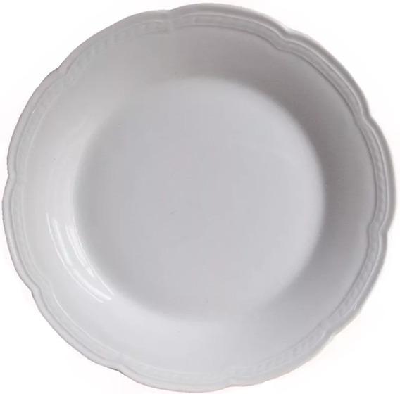 6 Platos Playos 25 Cm Porcelana Tsuji Linea 1800