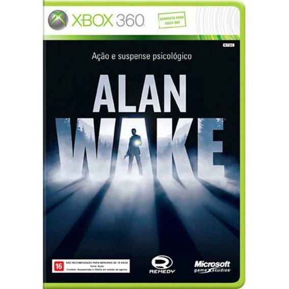 Jogo Alan Wake Xbox 360 - Com Frete!