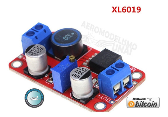 Regulador De Tensão Step Up Booster Xl6019 Até 5a Arduino