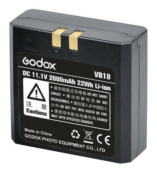 Bateria Godox Vb18 Li-ion 2000mah Para Flash V860 Ii