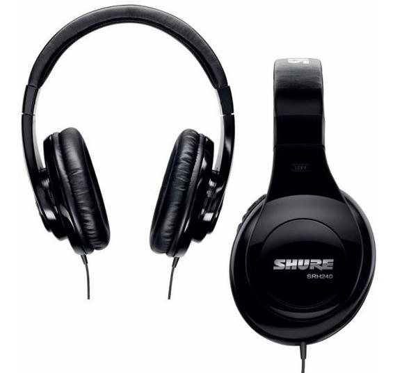 Fone De Ouvido (headphone) Shure Srh240a - Ac0971