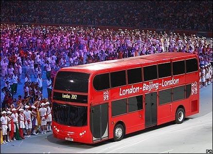Auto Bus Colección Olimpiadas Beiging-londres