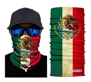 Face Shield Bandera De Mexico